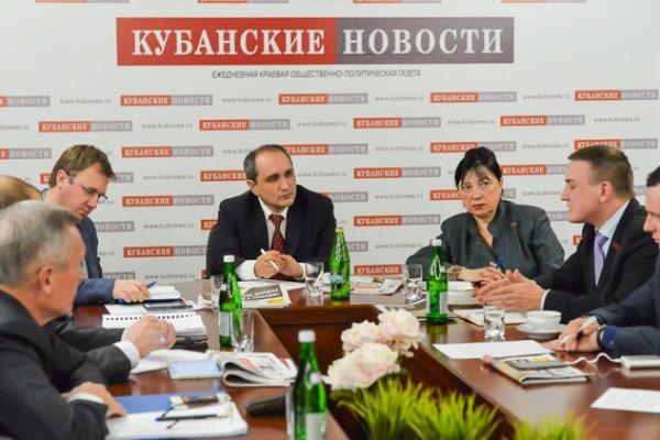 Представители КПРФ приняли участие в дискуссии в «Кубанских новостях»