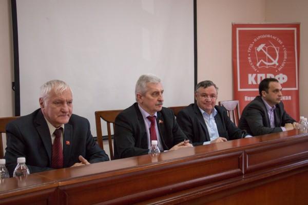 Пленум крайкома КПРФ утвердил отчет краевого Комитета для рассмотрения на партконференции и определил дату ее проведения