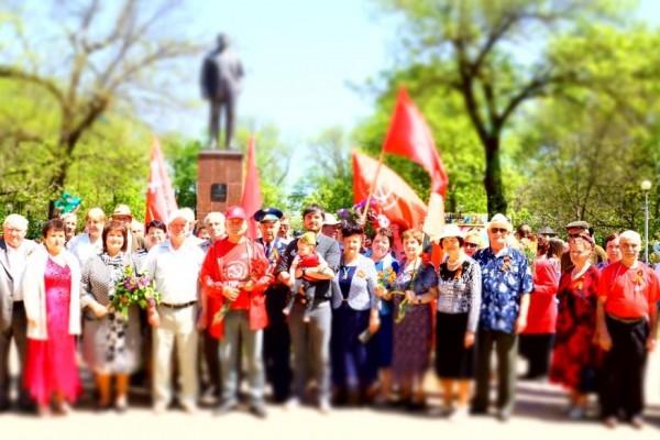 Депутаты КПРФ провели в Белореченске первомайскую встречу с избирателями