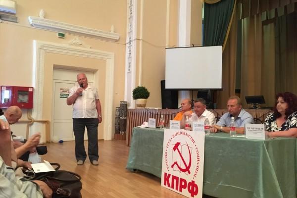 Состоялись отчеты коммунистов-депутатов Заксобрания края в Горячем Ключе и Апшеронске