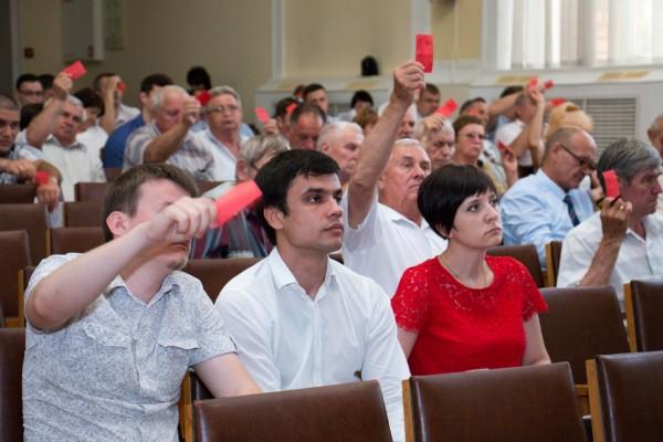 Конференция краевого отделения КПРФ выдвинула кандидатов в депутаты Заксобрания края