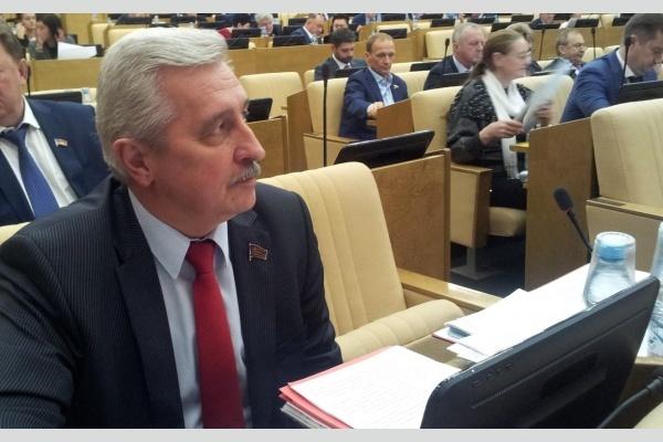 Рабочая неделя коммуниста-депутата Н.И. Осадчего: выступления в Госдуме и парламентские слушания по проблемам АПК