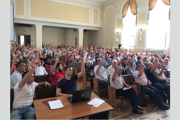 В Краснодаре прошло собрание инициативной группы (краевой подгруппы) референдума РФ против повышения пенсионного возраста