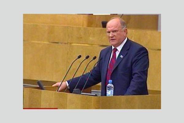 Г.А. Зюганов: Мы все заинтересованы в честных и нормальных выборах!