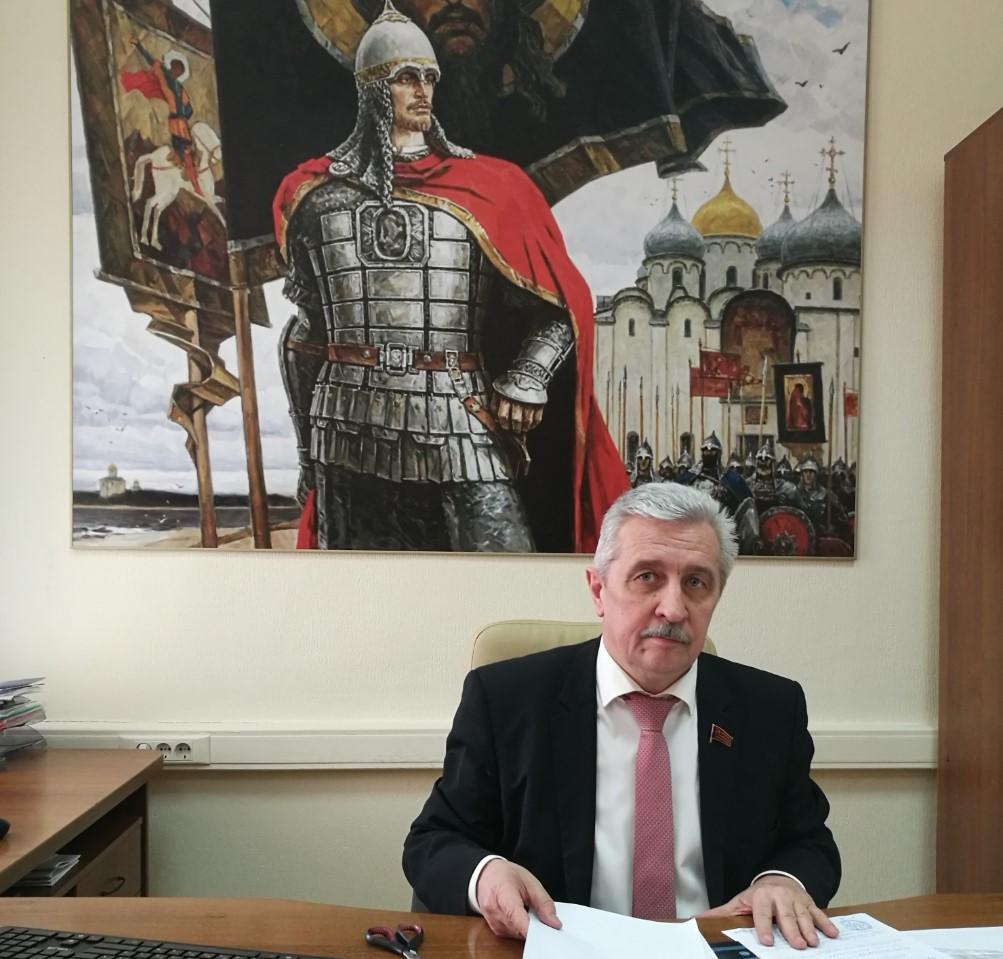 В приемную коммуниста-депутата Н.И.Осадчего поступают предложения о поправках в Конституцию
