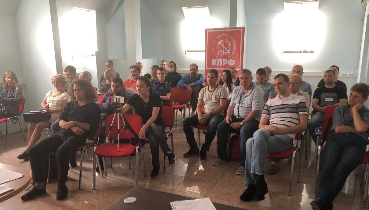 В Краснодаре и Лабинском районе прошли занятия с членами УИК от Компартии
